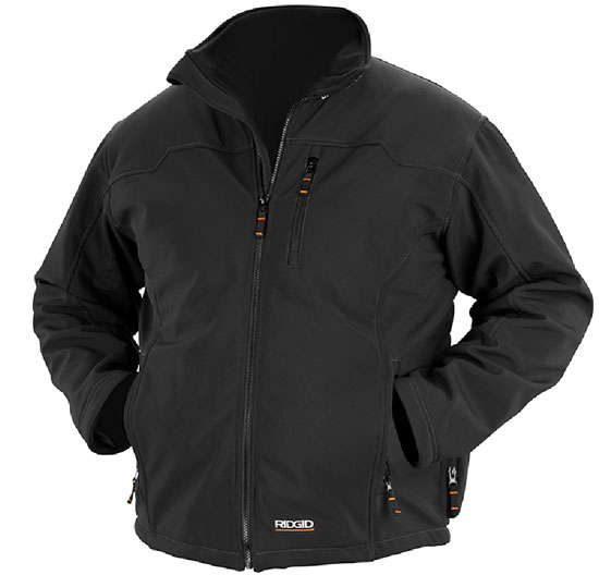 first look  new ridgid heated jackets