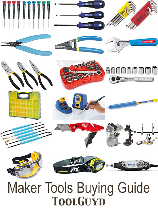 new maker hobbyists and electronics tools buying guide rh toolguyd com tech electronics buying guide Electronic Dork