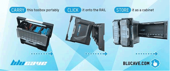 BluCave Storage System