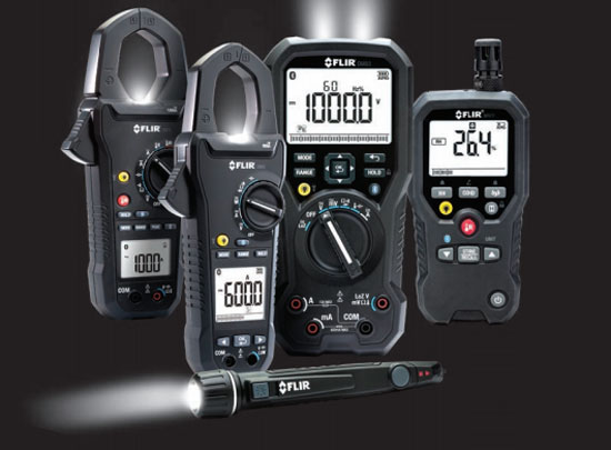 New Flir Multimeters and Testing Products
