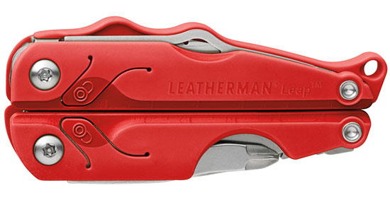 Leatherman Leap Closed RED