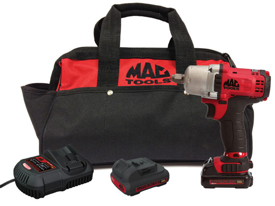New Mac Powered By Dewalt Cordless Impact Wrenches