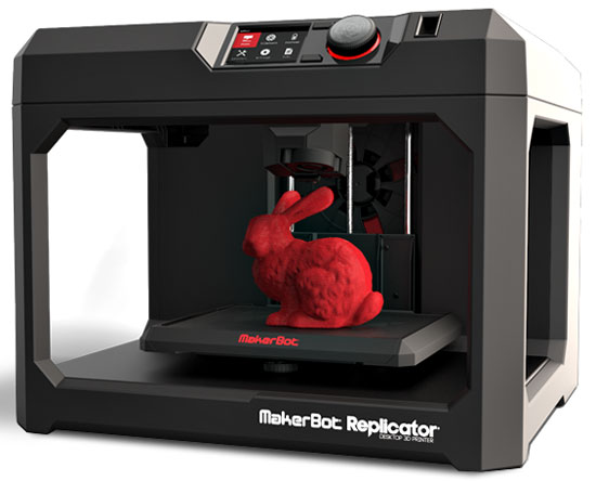 New MakerBot Replicator 3D Printers for 2014