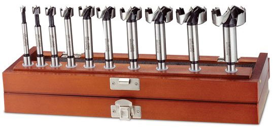 Hot Deal: 50% Off 10-Piece Forstner Drill Bit Set
