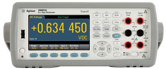 Agilent 34461A Multimeter Front