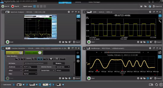 New Agilent BenchVue Software for Multimeters, Oscilloscopes, and More
