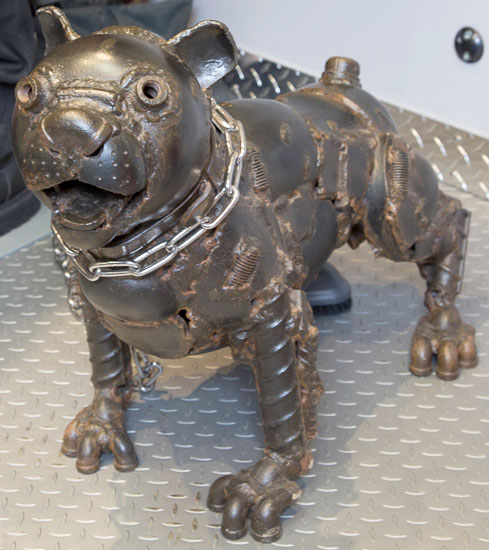 American Welding Society Welded Dog