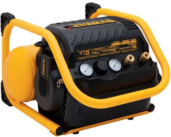 air compressor, model DWFP55130, that's designed for use with trim