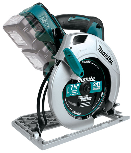 First Look: Makita 18V X2 Circular Saw, XSH01Z