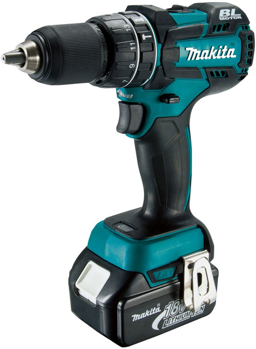 New Makita XPH06 18V Brushless Hammer Drill