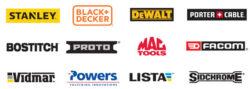 Stanley Black and Decker Tool Brands