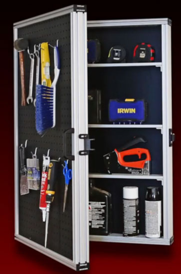 8020 T-Slot Aluminum Wall Cabinet