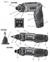 New Dewalt DCF681 & DCF682 8V Gyro Cordless Screwdrivers