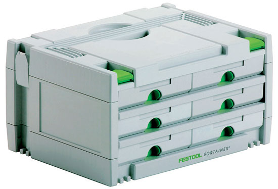 Festool Sortainer 6-Drawer Organizer