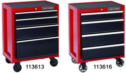 Can You Spot the Differences Between These Two Craftsman Ball Bearing Tool Storage Cabinets?