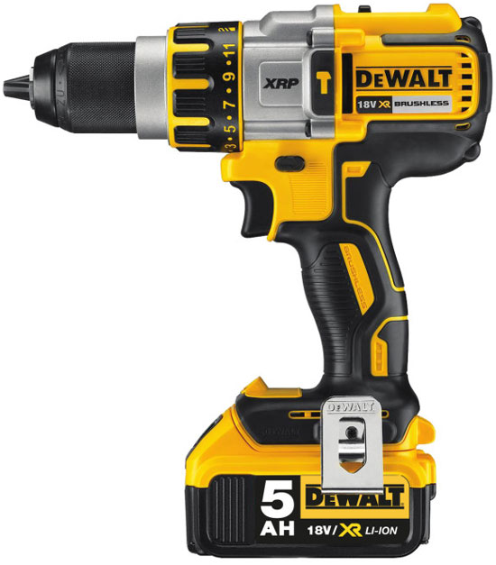 Dewalt 20V Brushless Hammer Drill with 5Ah Battery