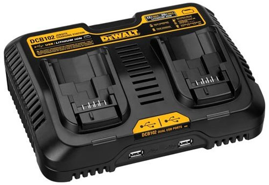 Dewalt Tries Something New With A Dual Port 12v 20v And