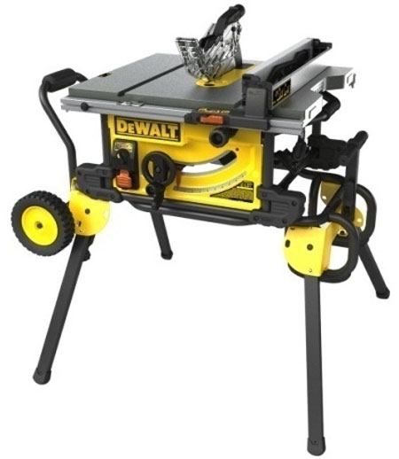 "New Dewalt Table Saw with ""Guard Detect"" Intelligent Safety Switch"
