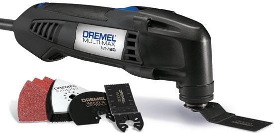 New Dremel MM20 Entry-Level Oscillating Multi-Tool Kit
