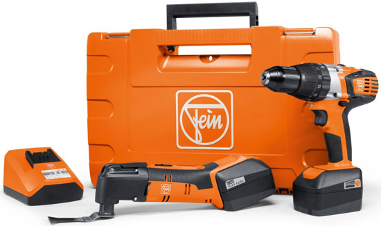 Fein Cordless MultiMaster and Drill Renovation Set