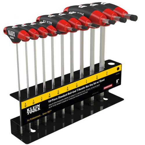 Klein Journeyman Ball Hex Driver Set