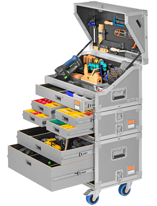 A Neat Approach To Modular Mobile Tool Storage