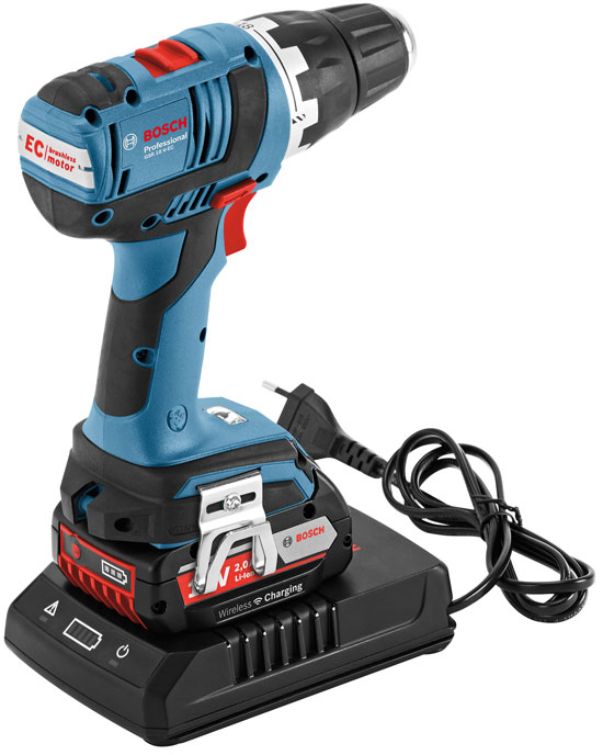 New Bosch 18v Wireless Inductive Battery Charging System