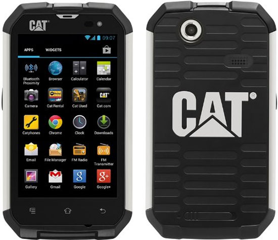 This is the CAT Ultra-Rugged and Waterproof Android Phone