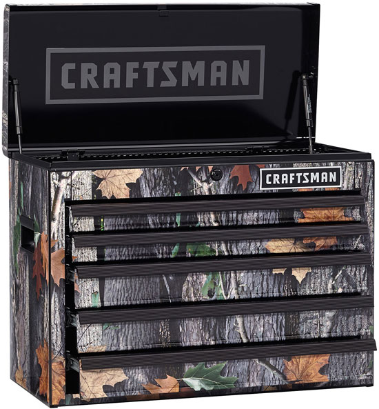 New Craftsman Camouflaged Tool Chest