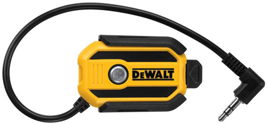 New Dewalt Jobsite Radio Bluetooth Adapter
