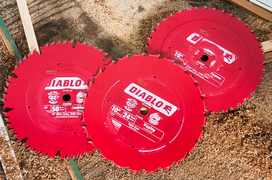 Diablo 10 table saw and miter saw blade reviews freud diablo miter and table saw blades greentooth Choice Image