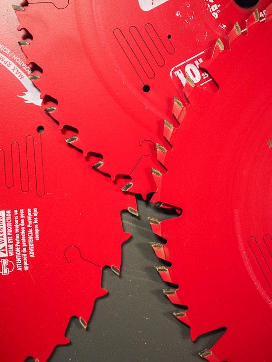 Freud Diablo Circular Saw Blades Close Up Details