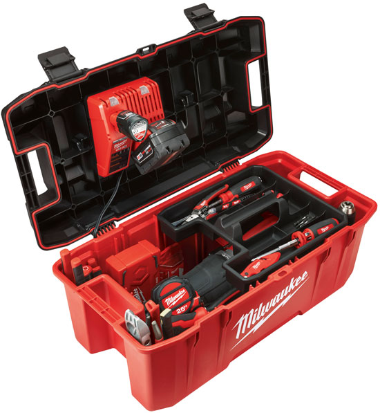 Milwaukee 48-22-8020 Tool Box Loaded