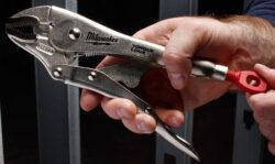 Milwaukee Locking Pliers Manual Adjustment