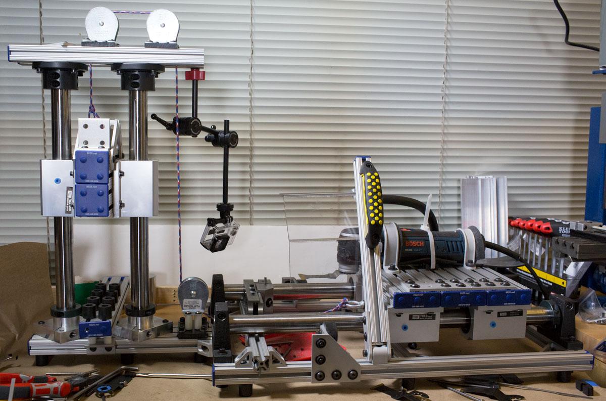 OMT Blades Testing Apparatus