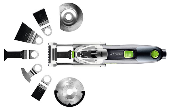 Festool Vecturo Oscillating Multi-Tool Product Family