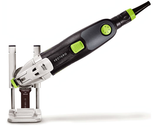 Festool Vecturo Plunge Guide at Angle