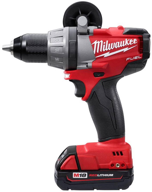 Milwaukee M18 Fuel Brushless Drill 2603