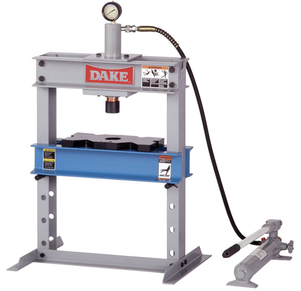 Dake benchtop hydraulic press Hydraulic bench press