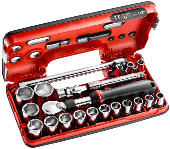 Facom SXL Extendable Ratchet Socket Set