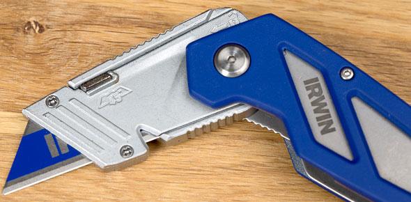 Irwin FK100 Folding Utility Knife Blade Change Position