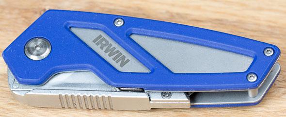 Irwin FK100 Folding Utility Knife Closed