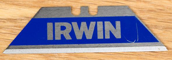 Irwin FK100 Folding Utility Knife Included Blade
