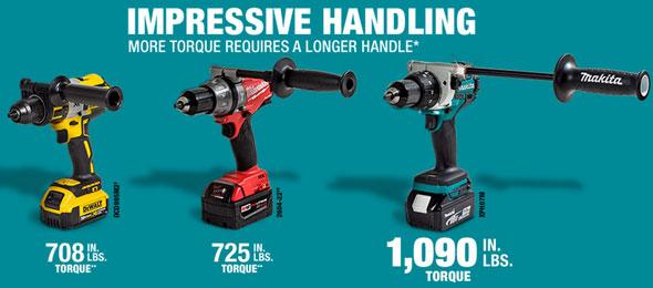 New Makita 18v Xph07 Brushless Hammer Drill Delivers