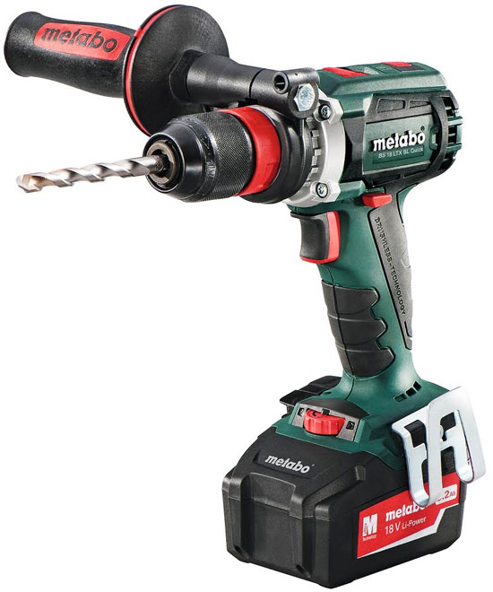 new metabo 18v brushless drill and hammer drill. Black Bedroom Furniture Sets. Home Design Ideas