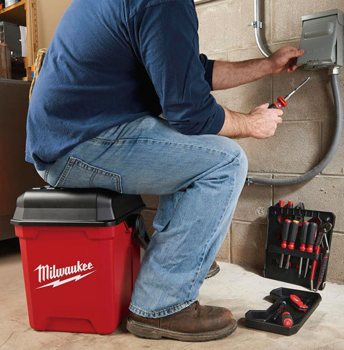 New Milwaukee Bucket Sized Tool Box