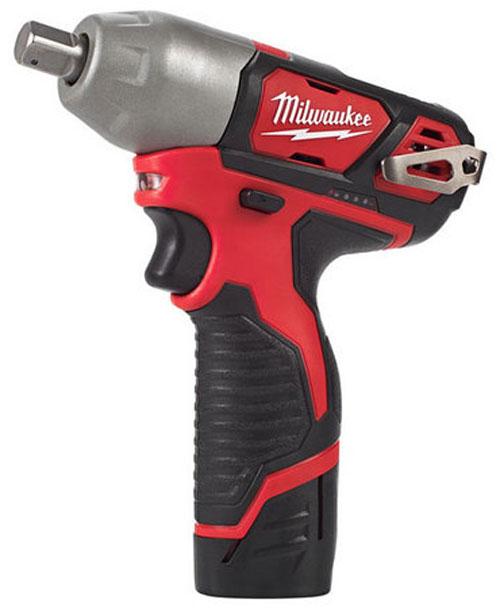 Milwaukee M12 Sub-Compact 1-2 Impact Wrench