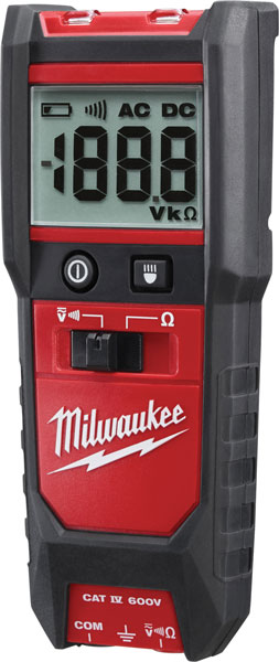 New Milwaukee Auto Voltage And Continuity Tester