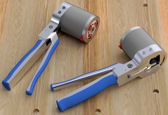 Adjustable Socket Wrench Tool Renderings