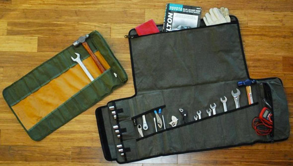 Adventure Tool Company Tool Roll vs Bucket Boss